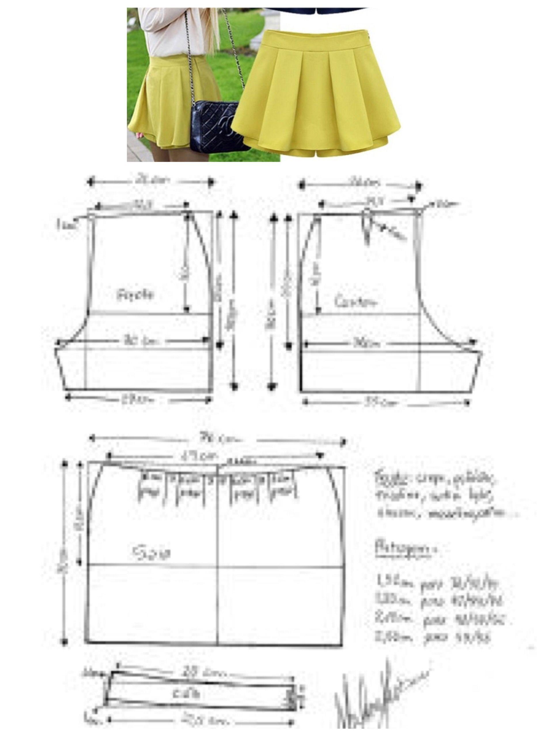 Pin de karelia briceño en diy costuras | Couture, Patron couture y ...