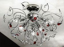 Plafoniere In Cristallo Moderne : Lampadario plafoniera moderna cristallo swarovsky f lampadari