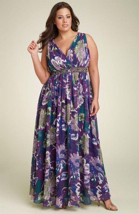 Best long dresses for plus size women