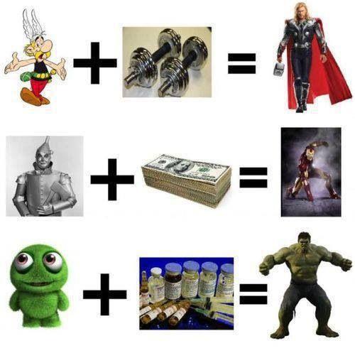 Super hero origins