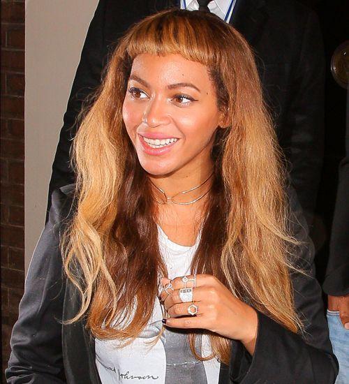 Beyonce'nin ilginç kakülleri