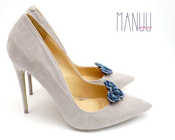 61cec38986744 Shoe jewelry shoe clips Manuu bridal shoe clips by ManuuDesigns ...