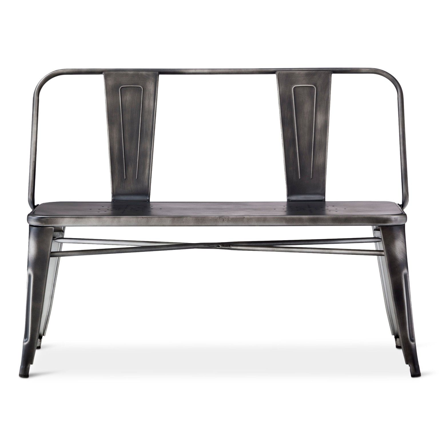 Distressed Metal Dining Bench Target 120 44 In Metal Dining Bench Dining Bench Metal Dining Room - Garden Furniture Clearance Hop Farm