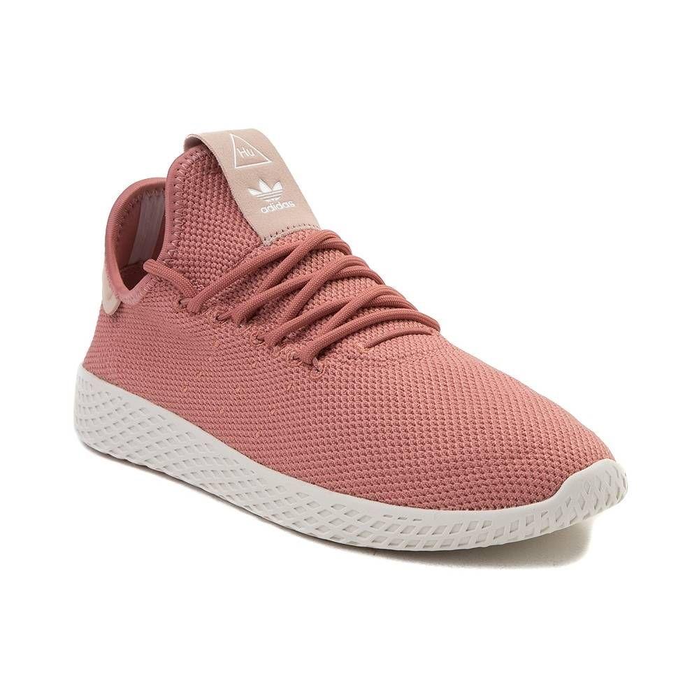 165b43fcbe081d Womens adidas Pharrell Williams Tennis Hu Athletic Shoe - Ash Pink Chalk -  436557