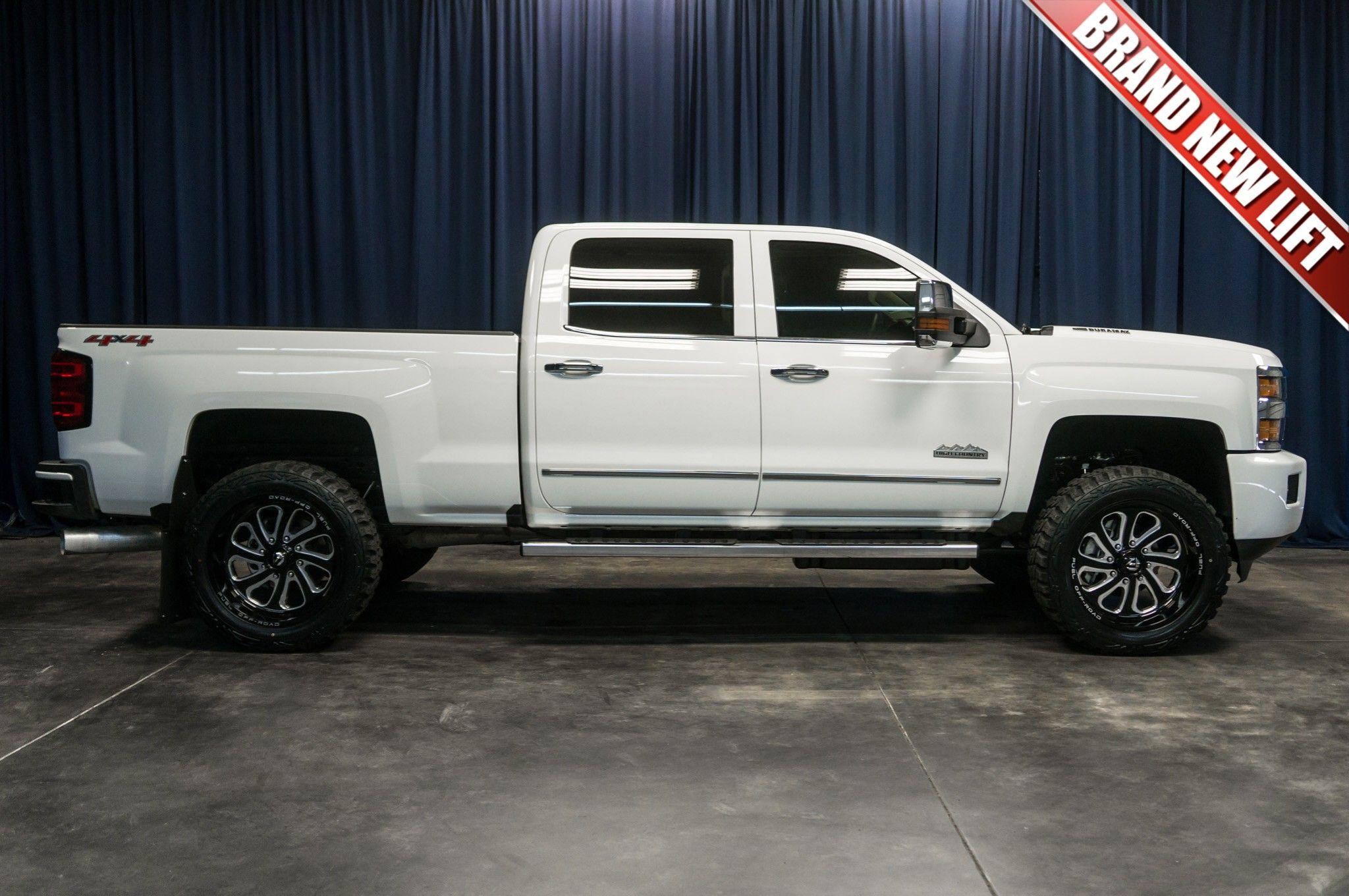 Lifted 2016 Chevrolet Silverado 3500 High Country 4x4 Chevrolet