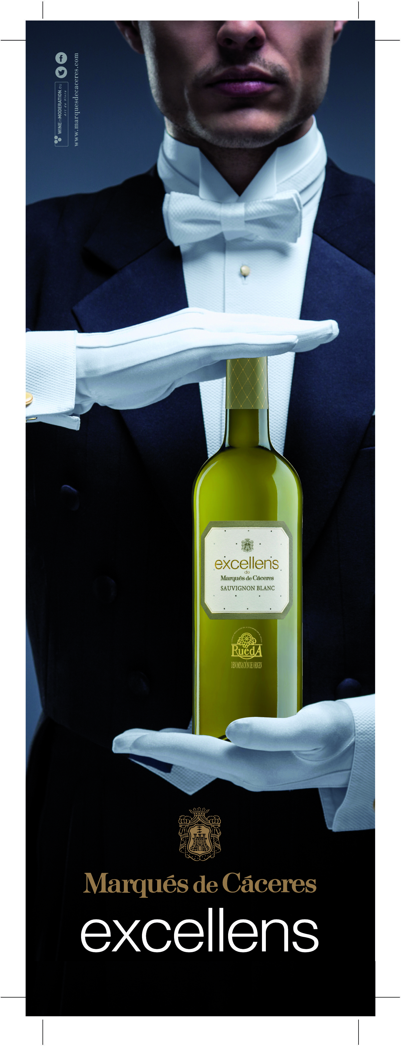 #MarquésdeCáceres Excellens White #Rueda #whitewine