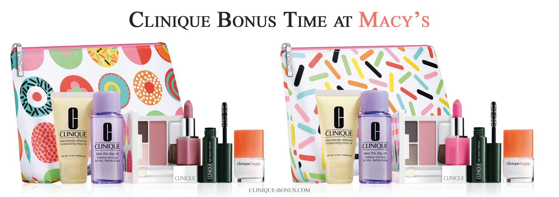 Pin by The girl with the pink basket on Clinique Bonus
