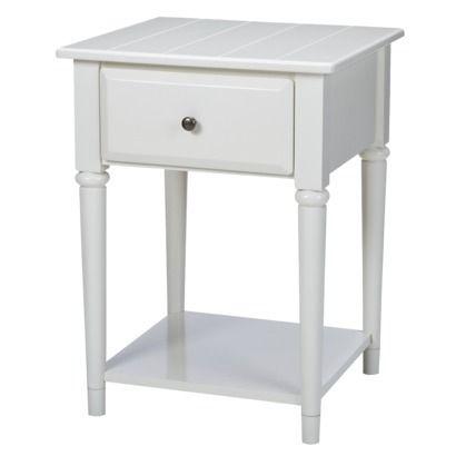 South Hampton Night Stand White 139 99 White Nightstand