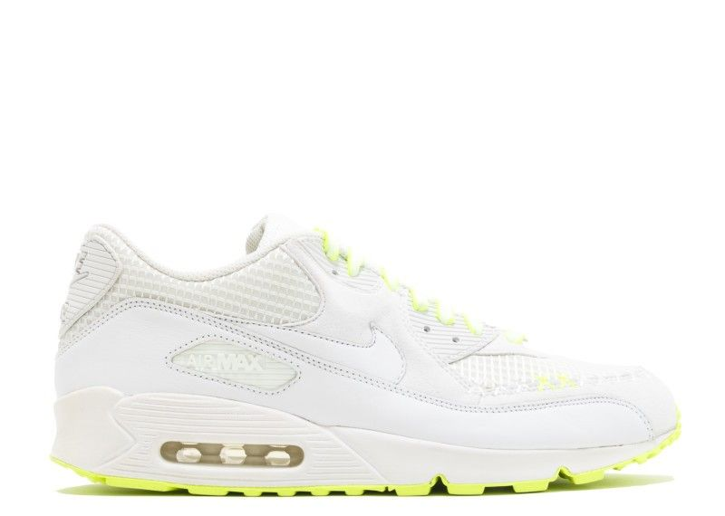 new style 60e25 3b979 Vente Kaws X Nike Air Max 90 White Volt Kaws Blanche Blanche Volt 346115-111
