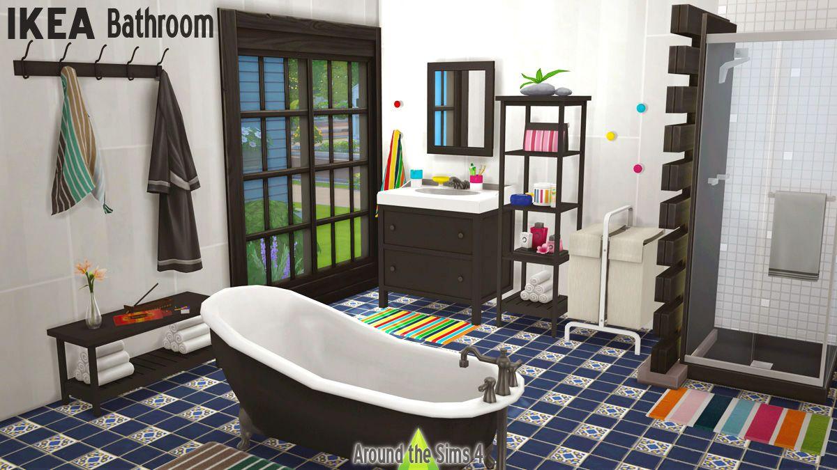 Lana CC Finds   ATS4 IKEA Bathroom