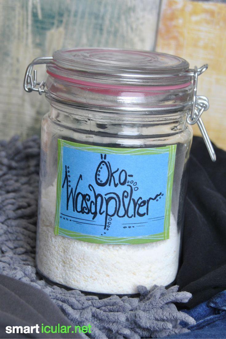 Okologisches Waschpulver Aus Eigener Herstellung Waschmittel