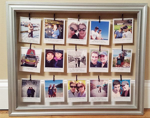 DIY Polaroid Collage | Interior Ideen | Polaroid collage ...