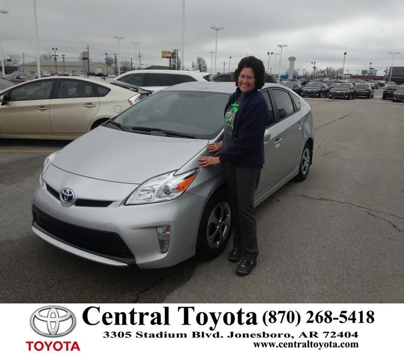 Happy Anniversary To Linda On Your Toyota Prius From Jason Taylor At Central Toyota Toyota Toyota Dealership Happy Anniversary