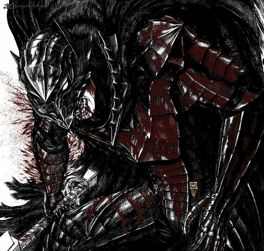 Guts In Berserker Armor (Colored By U