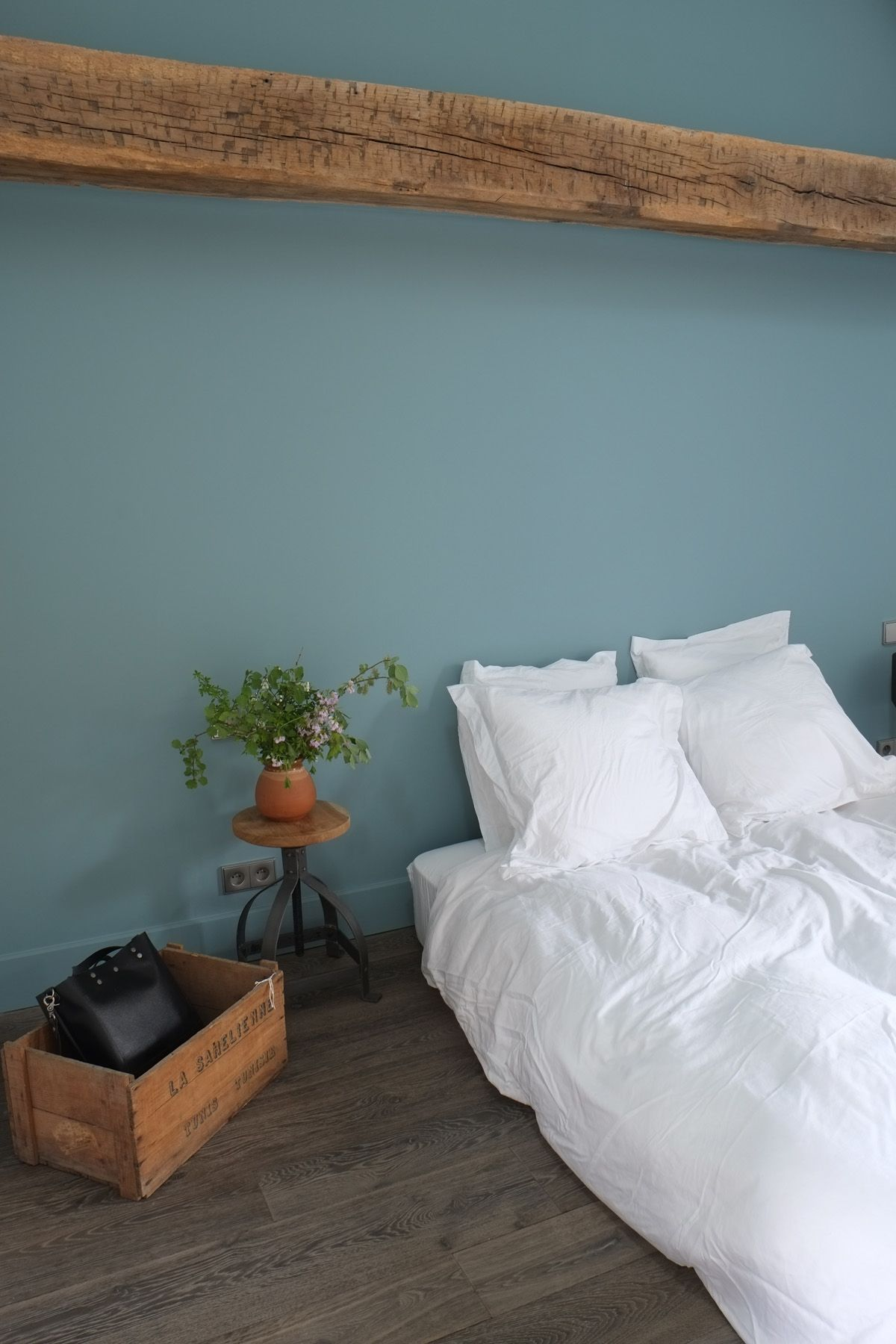 chambre d amis et ses tonalités de vert