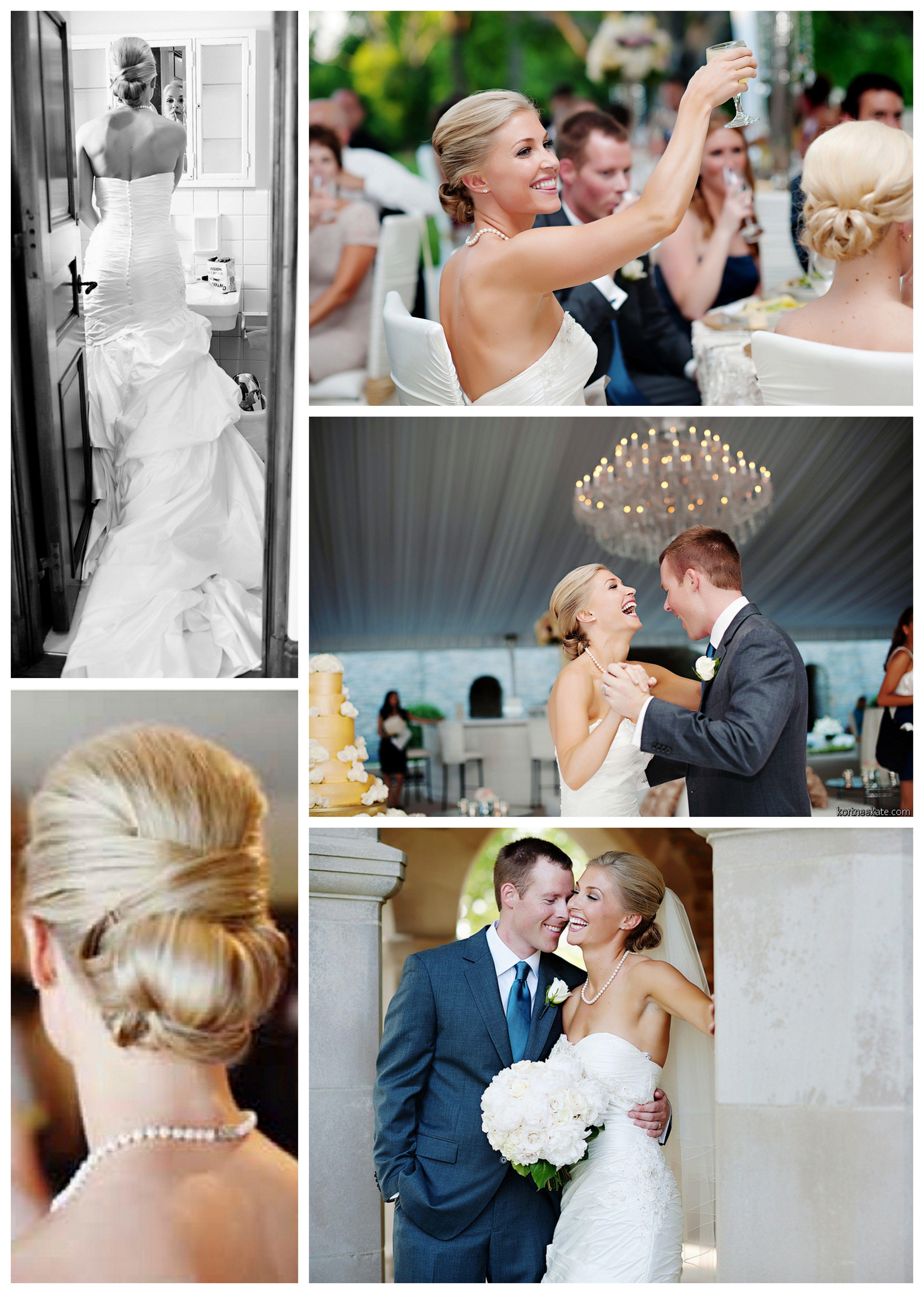 high five salon in cincinnati, wedding hair, wedding up-do | all