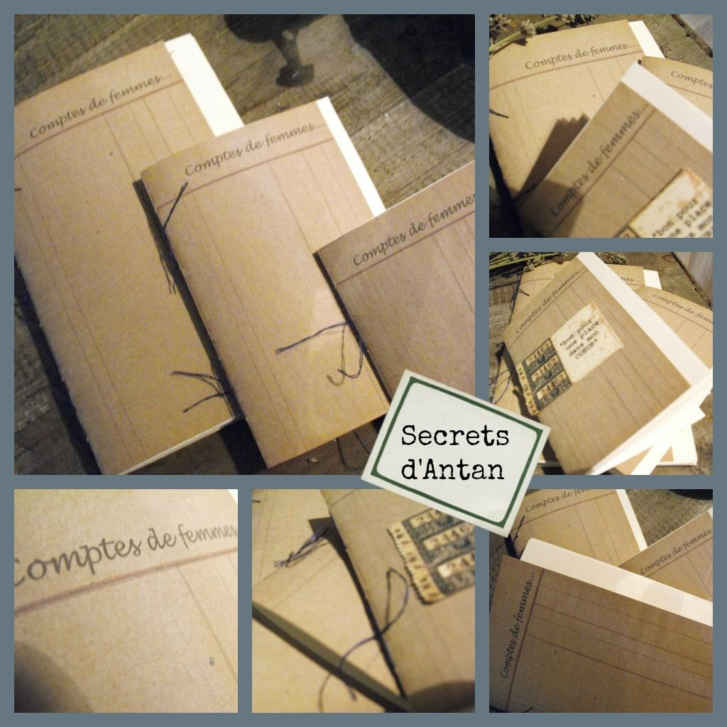 Secrets d'Antan...créations!
