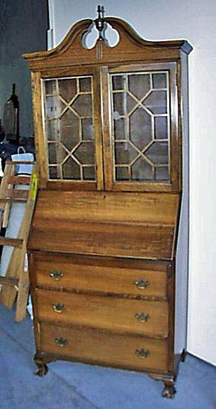 art deco 1920s maddox tables mahogany secretary desk