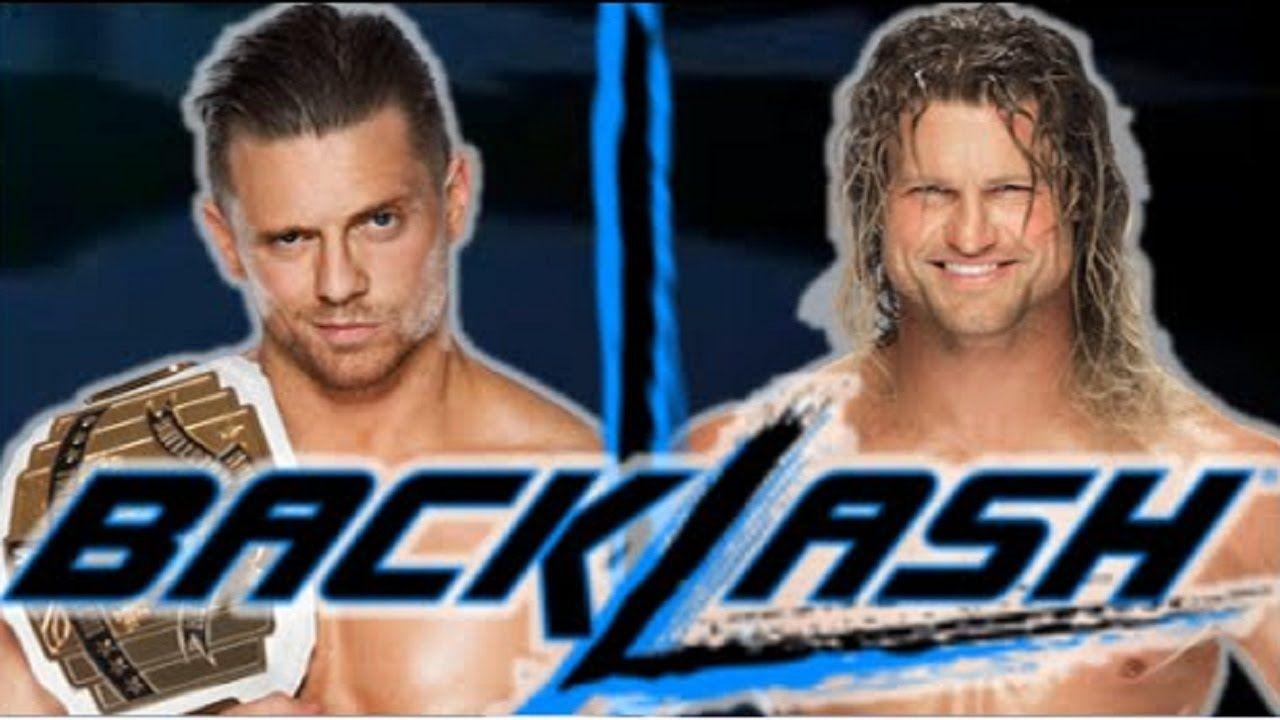 WWE Backlash 2016 Intercontinental Championship Dolph