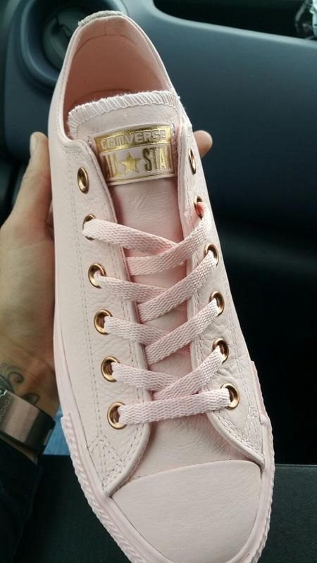 7f0c8645124c Converse All Star Low Leather Trainers Vapour Pink Rose Gold Snake  Exclusive - Unisex Sports