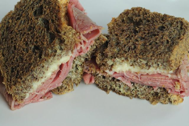 """Rueben on """"Rye"""" Bread 