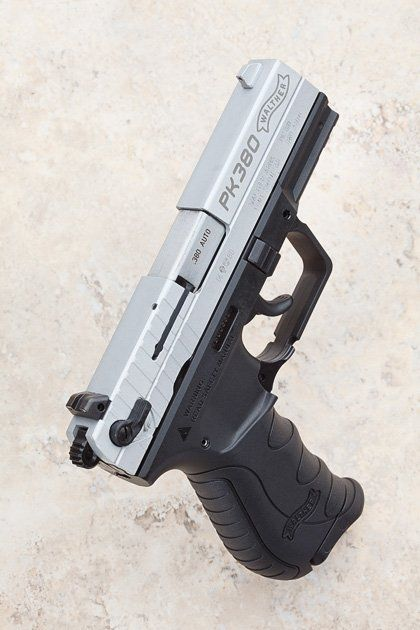 Walther PK380 pistol The low-recoil self-defense option  I can't