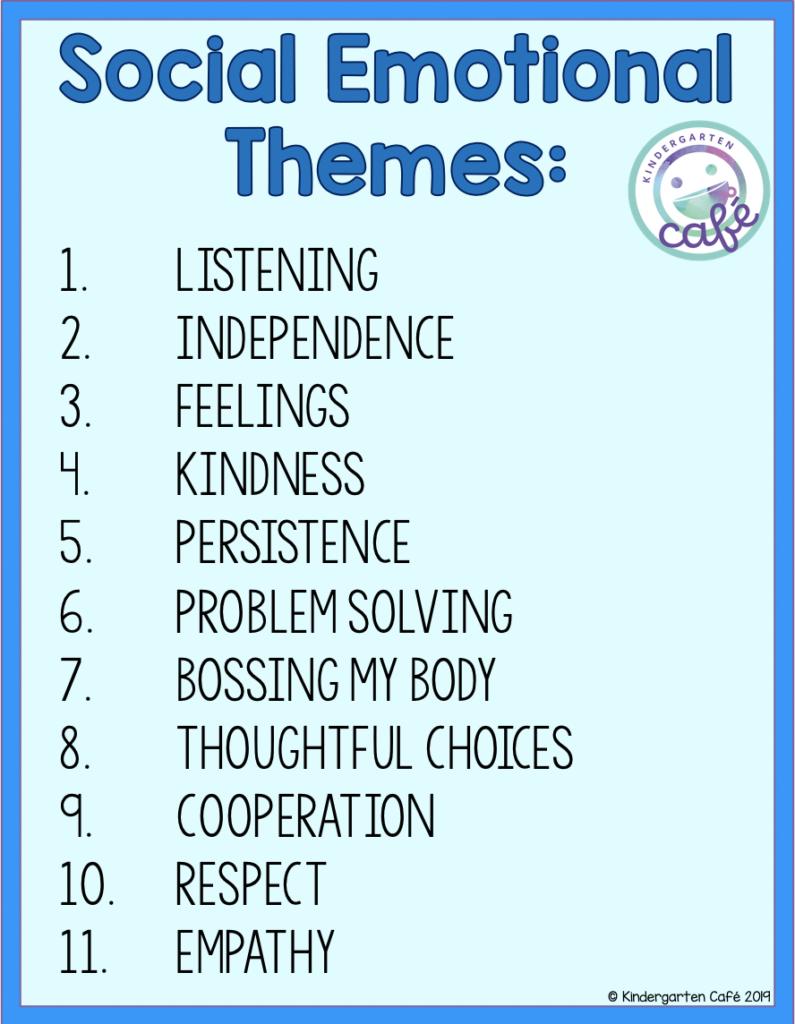 Social Emotional Challenges Kindergarten Cafe Social Emotional Learning Activities Social Emotional Skills Social Emotional Activities Preschool