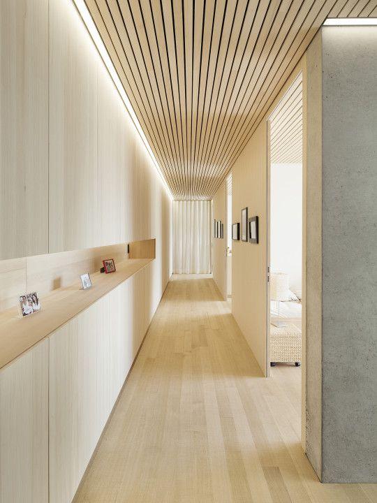 Haus b zwischenwasser dietrich untertrifaller for Haus interior design