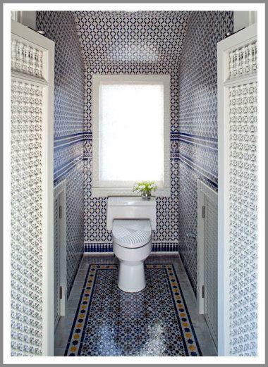 Moroccan Style Bathroom In Cape Cod Massachusetts Moroccan