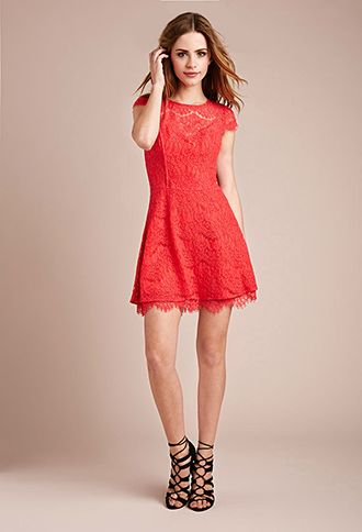 Red Lace Dress Forever 21