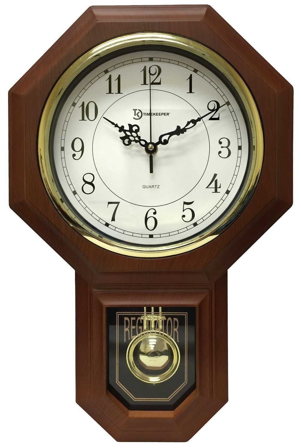 Wood Pendulum Wall Clocks