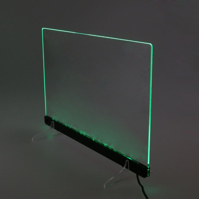 Acrylic Supports for LED Edge Lit Sign TDL-G | Signage in