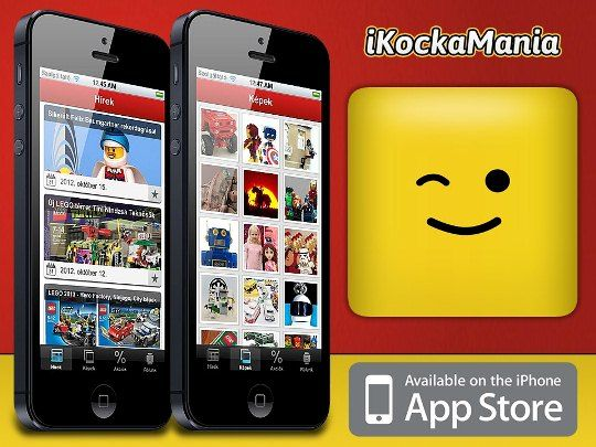 First Hungarian LEGO iOS app by @KockaMania ! #LEGO #Kockamania #iOS #Apple #App_Store