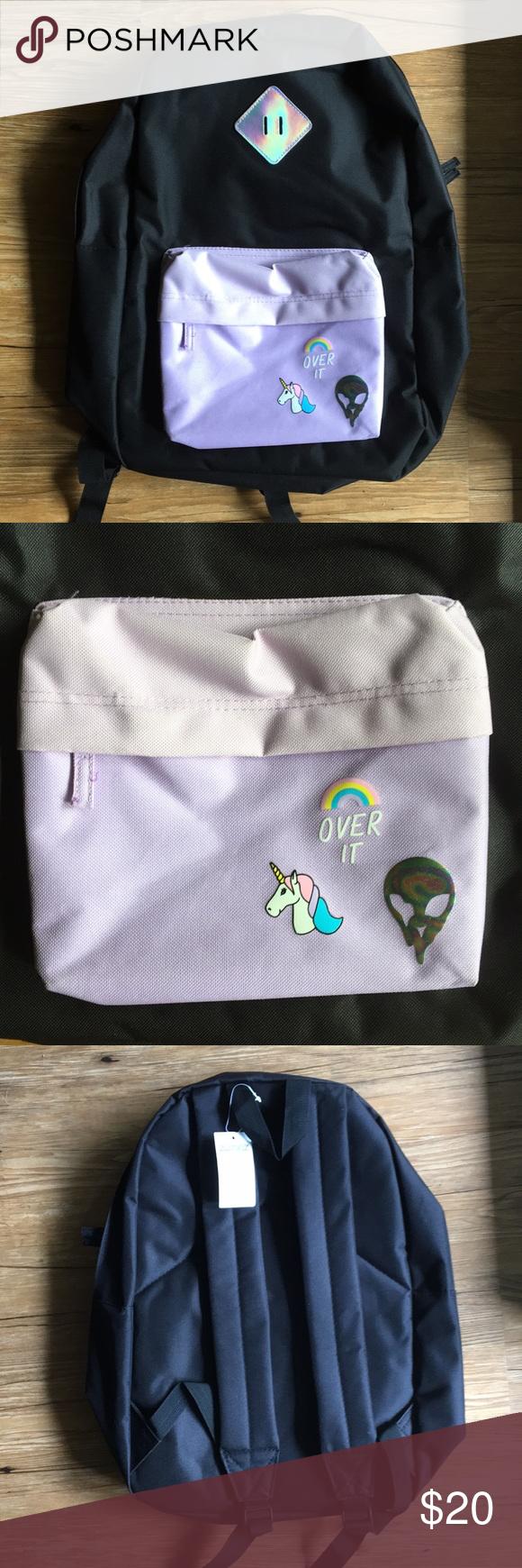 Nwt empyre zumiez black pastel kawaii backpack nwt my posh picks