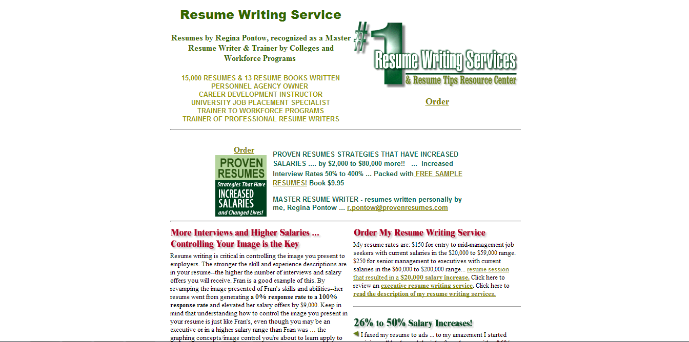 Reviews of best resume writing services