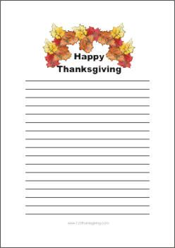 photograph relating to Thanksgiving Printable Templates called offer you owing stationery Down load Cost-free Printable