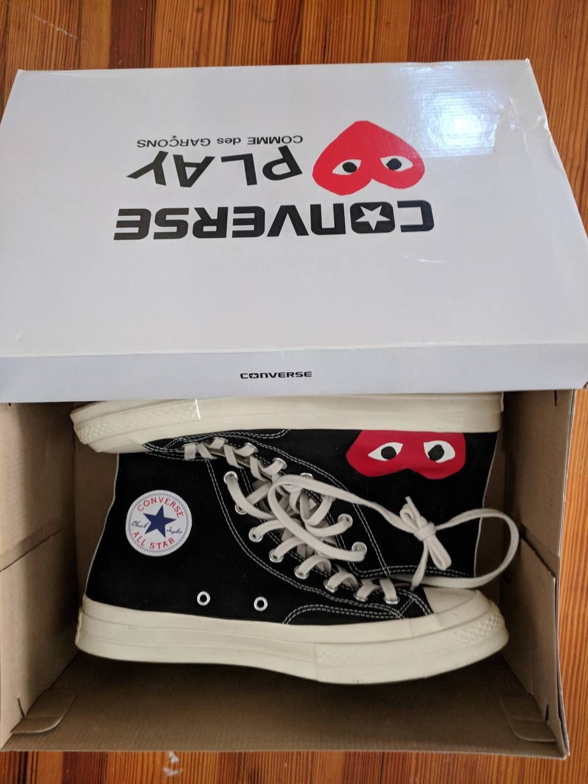 8af66a0c1 Comme des Garcons CDG Converse Size 11 - Hi-Top Sneakers for Sale - Grailed