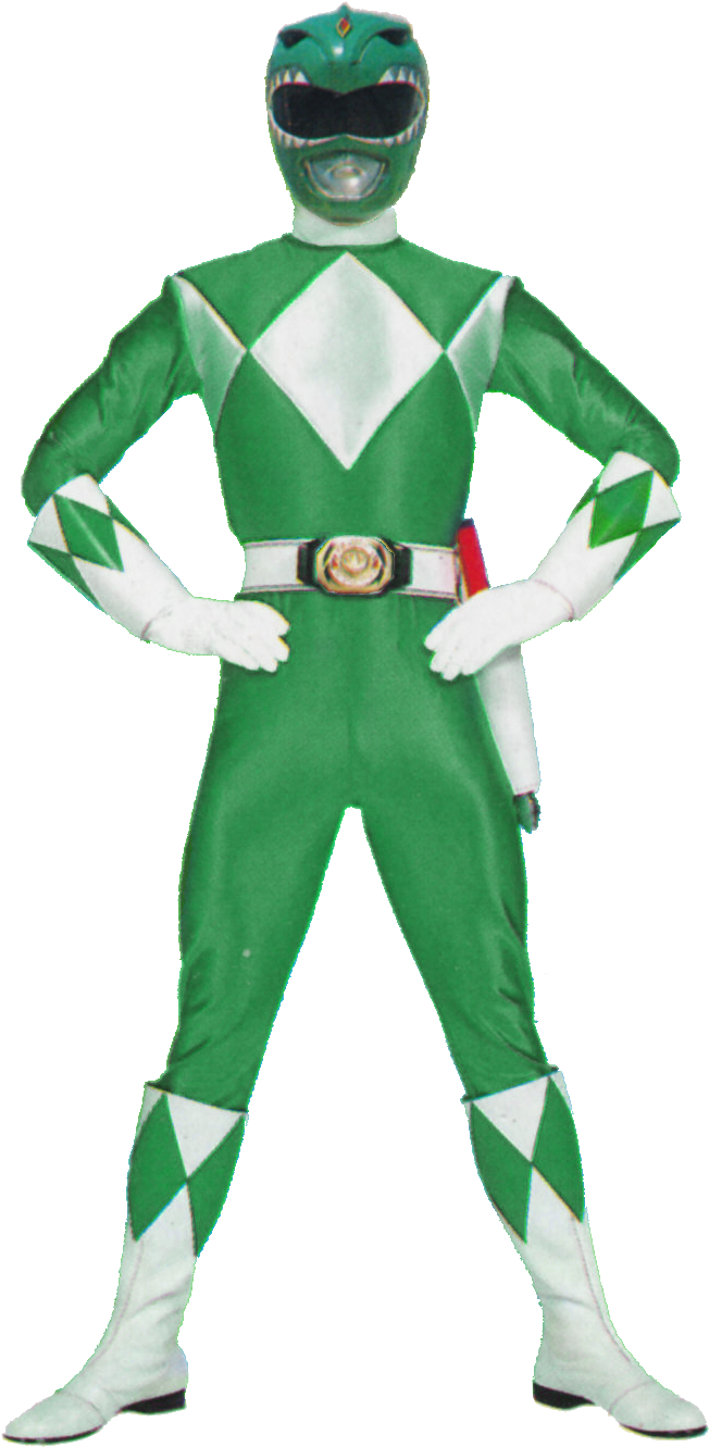 Mmpr Green V1 Blue Power Ranger 90s Png Download Transparent Png Image In 2021 Power Rangers Power Rangers In Space Power Rangers Season 1