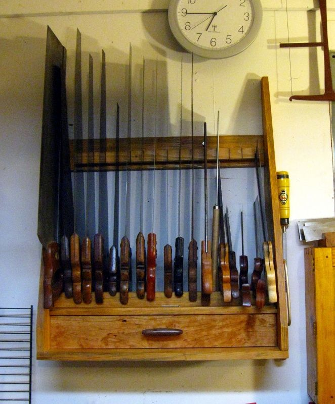 Wood Storage Rack, Shop