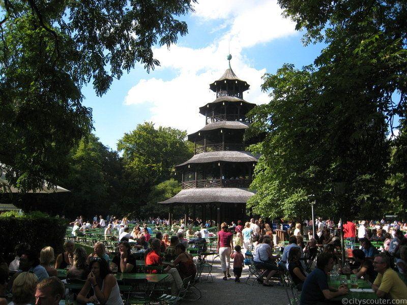 Munich S Best Beer Garden Beer Garden Germany Travel Chinese Beer