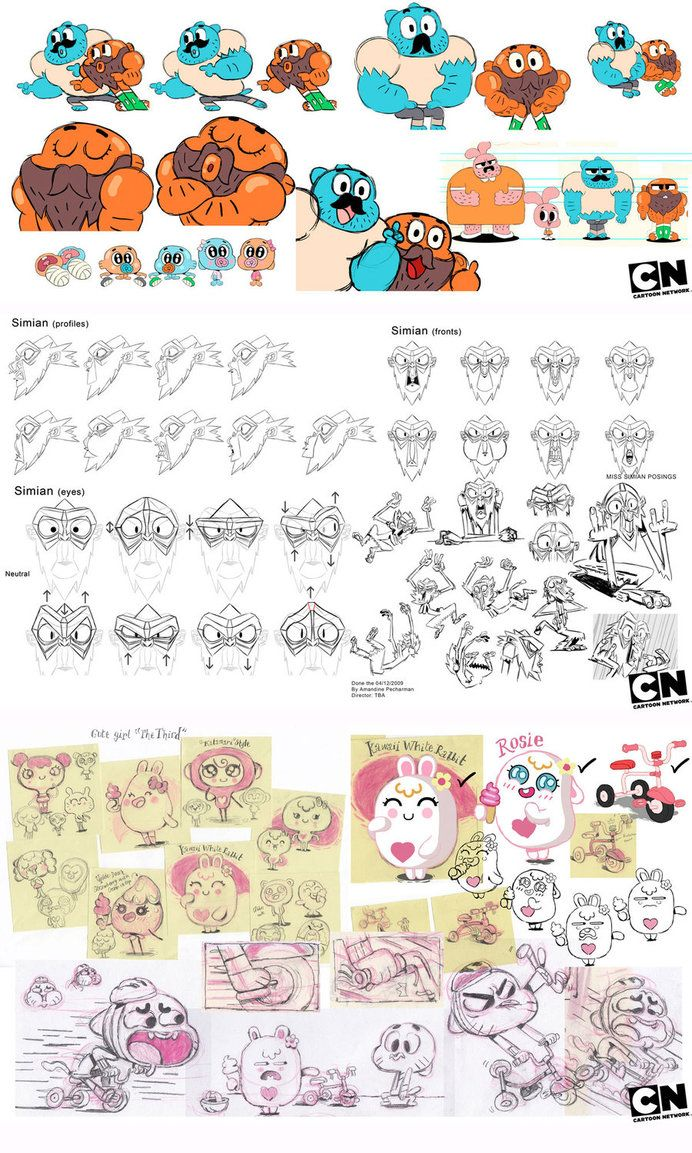 world gumball art of Amazing concept