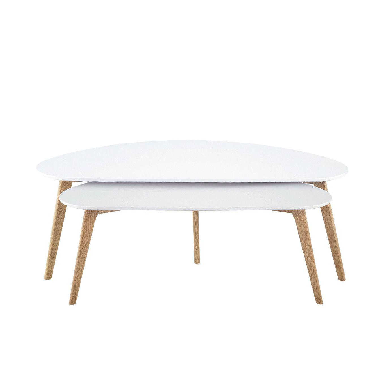 diamond sofa terra 2 piece nesting coffee table set | coffee