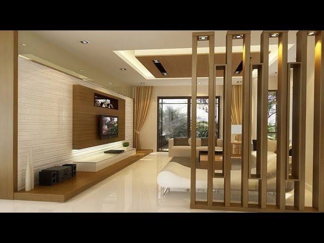 outstanding living room partition designs | 300 Modern Rooom divider ideas Home partition wall design ...