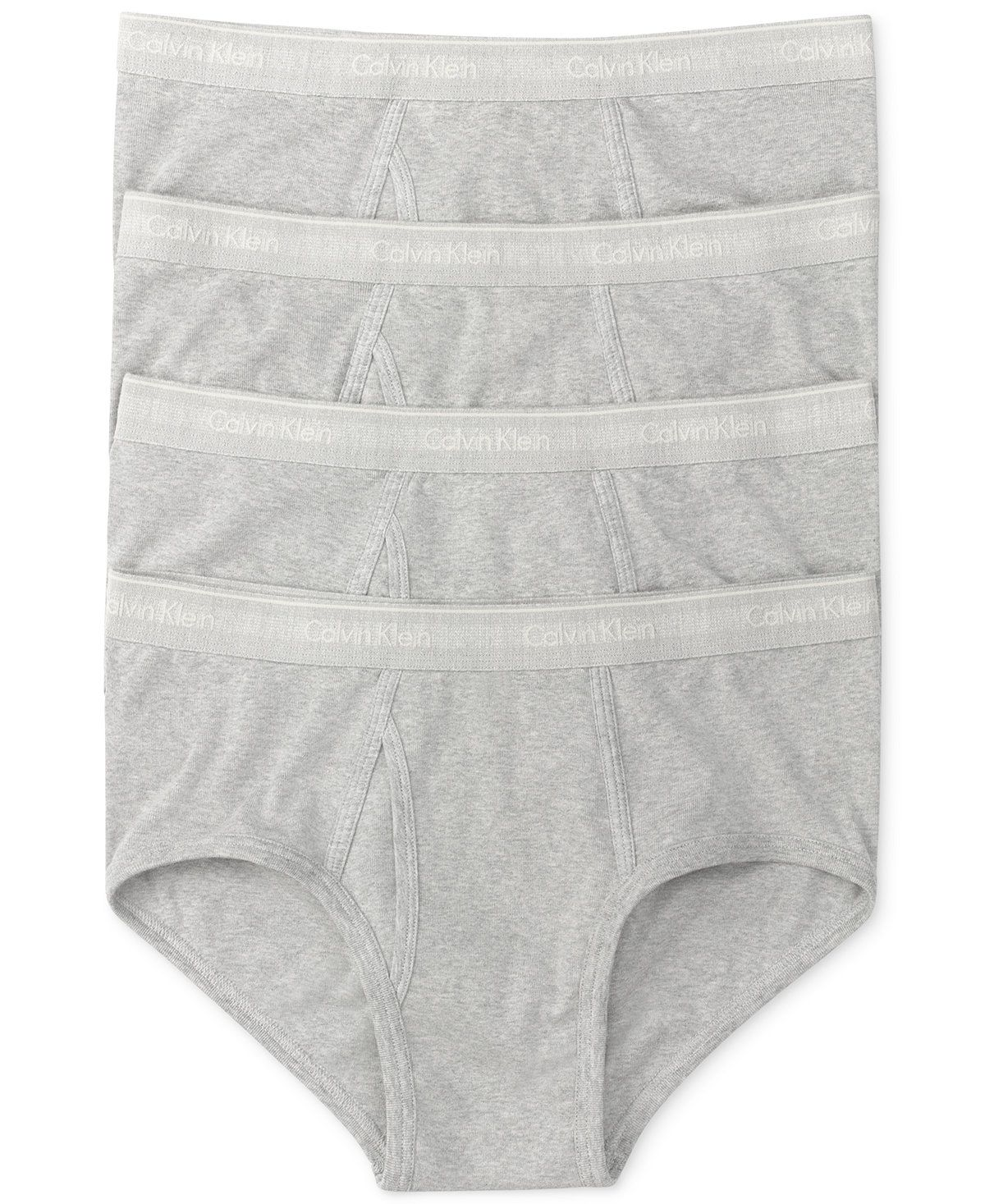 f6f26aec75ec Calvin Klein Men's Classic Briefs 4-Pack U4000 - Underwear & Undershirts -  Men - Macy's