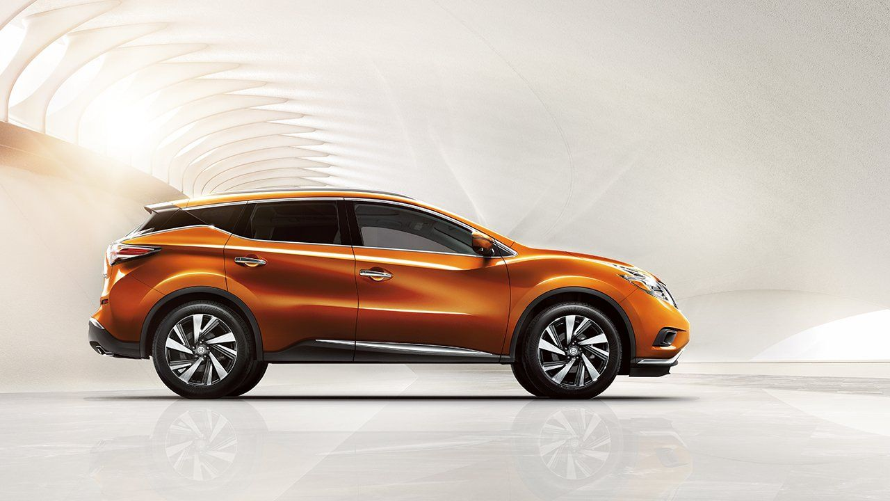 2017 nissan murano orange side view Nissan Pinterest