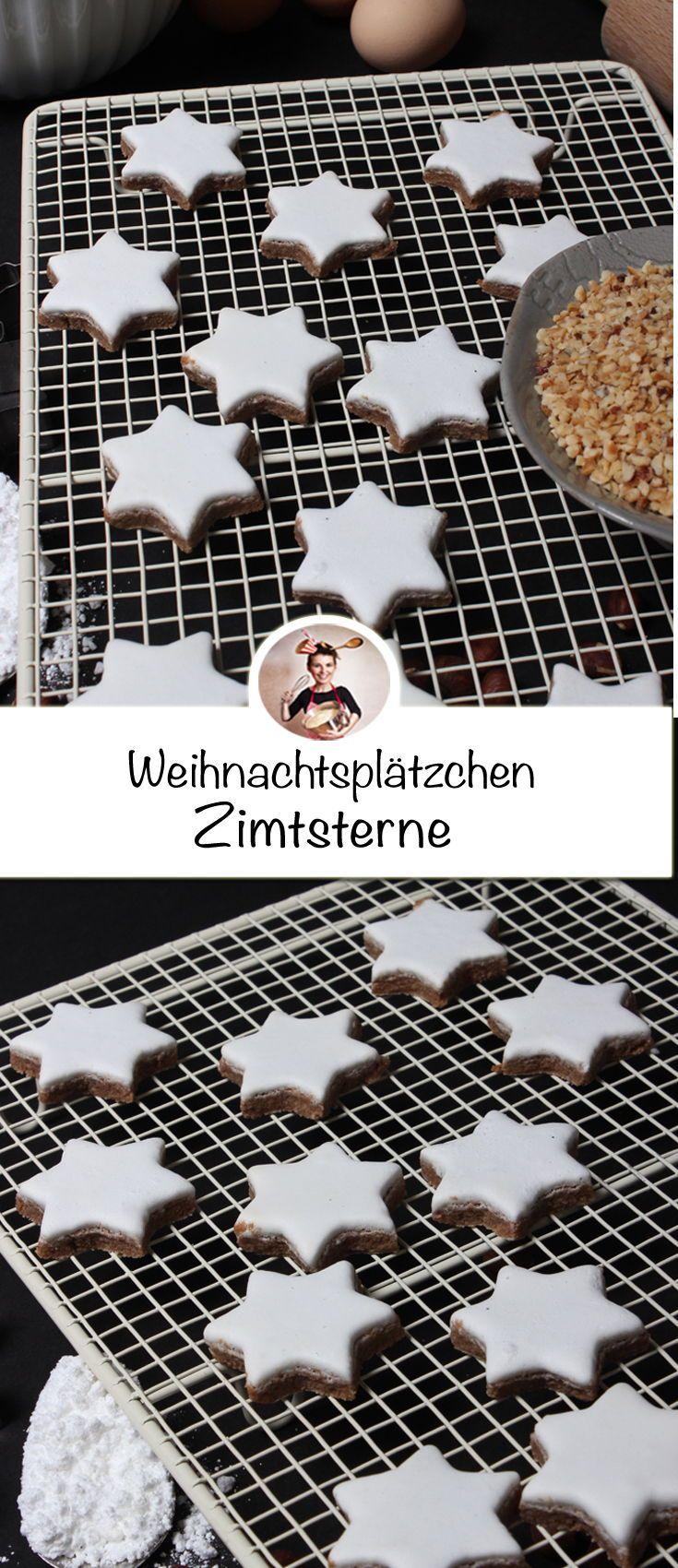 Photo of Zimtsterne Rezept – Einfach und leicht gemacht auf dem Weihnachtsteller. Zimts…