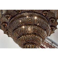 Moroccan beaded chandelier moroccan chandeliers moroccan explora araa de cuentas candelabros y mucho ms moroccan beaded chandelier aloadofball Choice Image