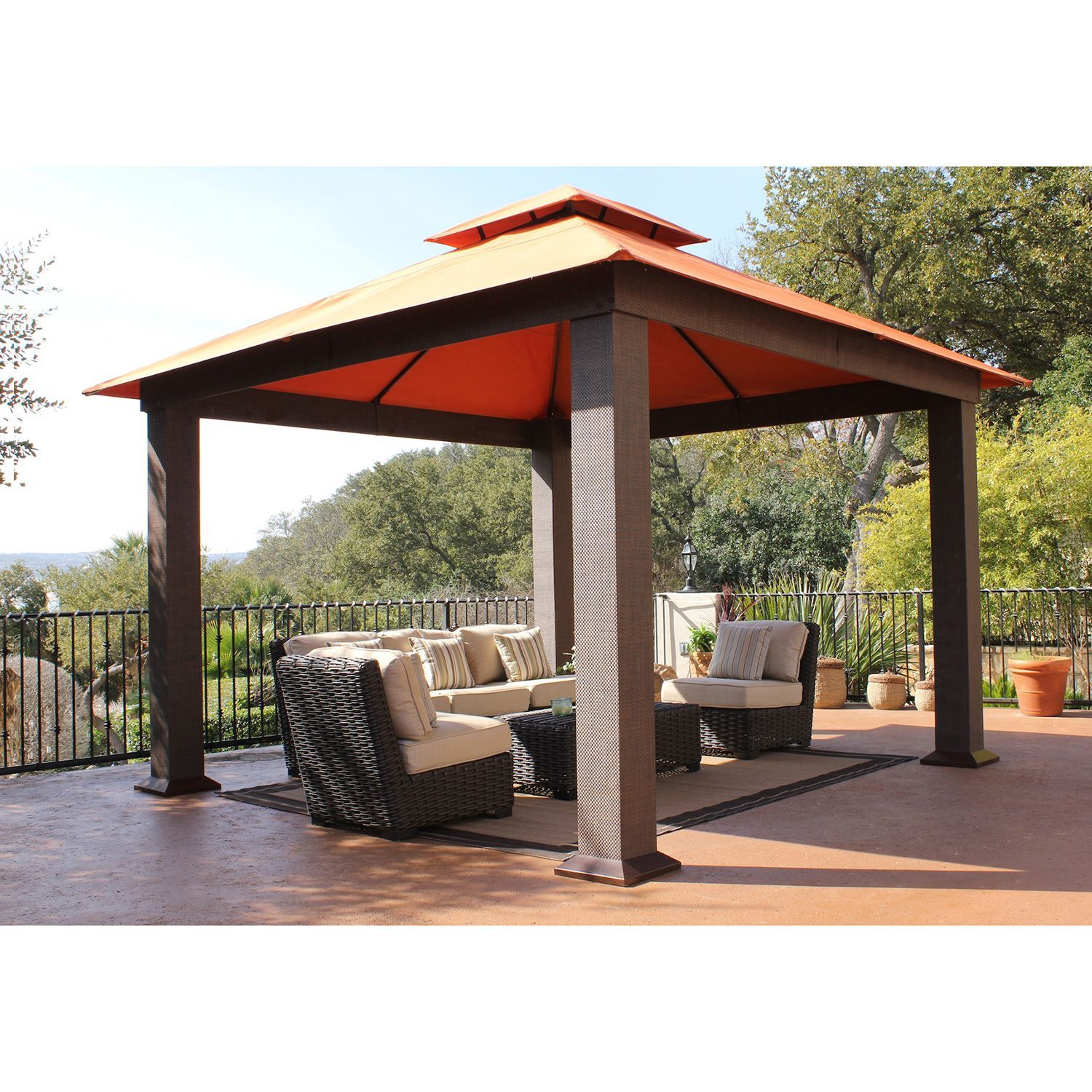 Stc Sonoma Gazebo 12 X 12 Sam S Club Patio Gazebo Garden Gazebo Backyard Gazebo