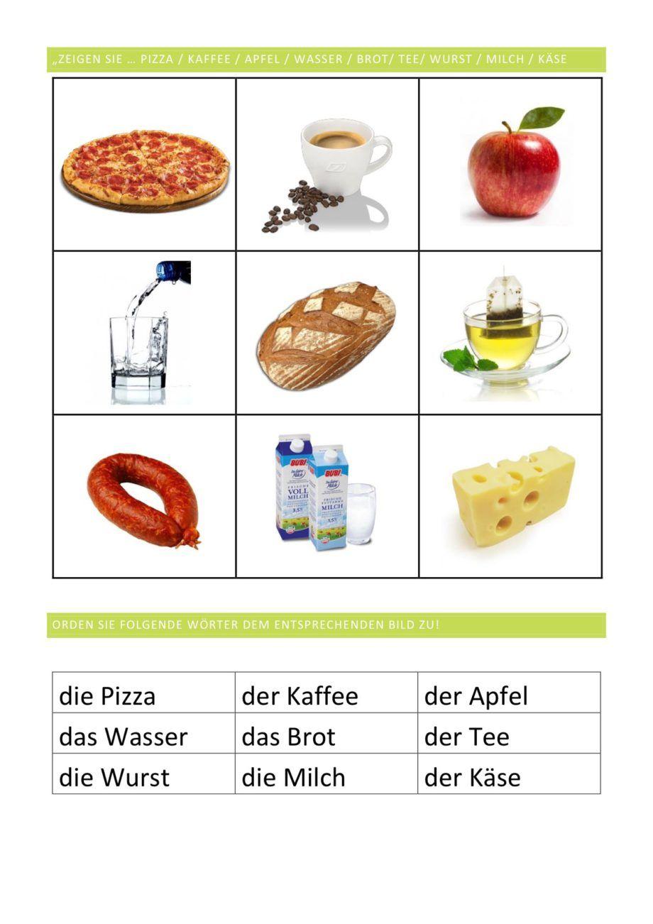 hochfrequente Lebensmittel Teil 1 - Aphasie | Pinterest ...