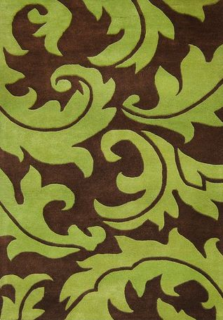 Green Brown With Images Brown Area Rugs Area Rugs Rugs